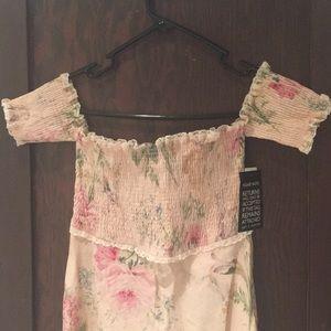 9c21bb956d04 Zimmermann Dresses - BNWT Zimmermann shirred linen Iris dress XS
